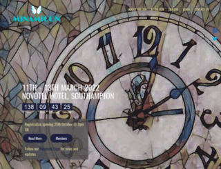 minamicon.org.uk screenshot