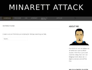 minarett-attack.ch screenshot