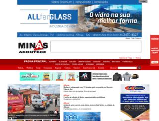 minasacontece.com.br screenshot