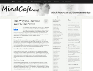 mindcafe.org screenshot