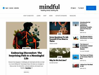 mindful.org screenshot