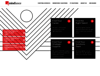 mindlance.com screenshot