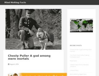mindmeltingfacts.com screenshot