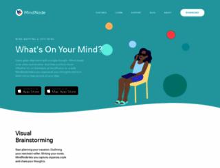 mindnode.com screenshot