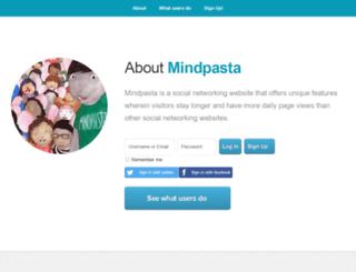 mindpasta.com screenshot