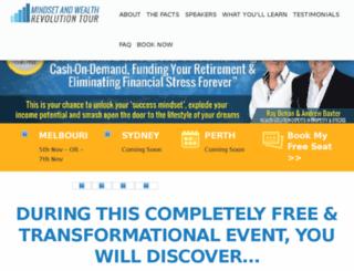 mindsetwealthrevolution.com.au screenshot