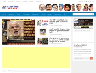 mindthenews.com screenshot