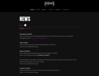 mindwarsofficial.com screenshot
