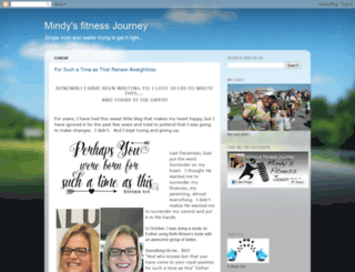 mindysfitnessjourney.com screenshot