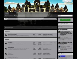minecraft-forum.de screenshot