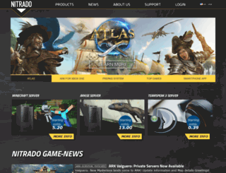 minecraft.nitrado.net screenshot