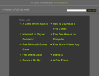 minecraftchat.net screenshot