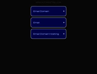 mineocityhosting.com screenshot