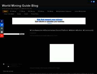 miner4world.blogspot.com screenshot