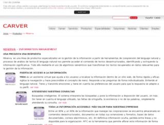 minervaasistentesvirtuales.com screenshot