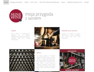 minewine.pl screenshot