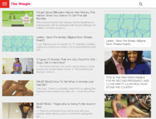 mingle.co.ke screenshot