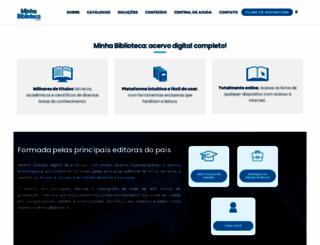 minhabiblioteca.com.br screenshot