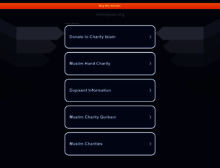 minhajusa.org screenshot