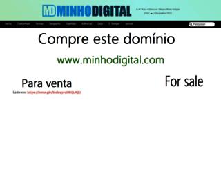 minhodigital.com screenshot