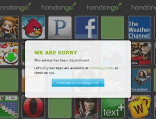 minibrand.handango.com screenshot