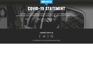 minicabster.co.uk screenshot