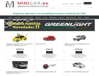 minicar.es screenshot