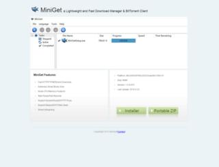 miniget001.com screenshot