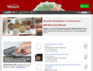 minijob.de screenshot