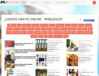 minijuegosgratis.info screenshot