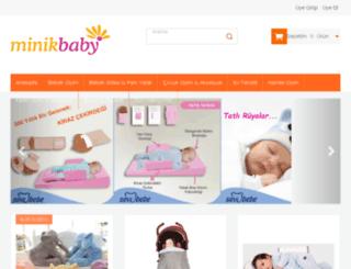 minikbaby.com screenshot
