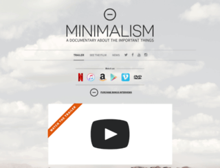 minimalismfilm.com screenshot