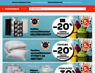 minimani.fi screenshot
