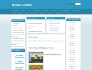 miniminibirlerim.com screenshot