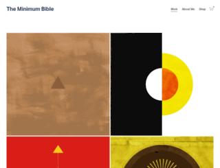 minimumbible.com screenshot