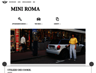 miniroma.mini.it screenshot