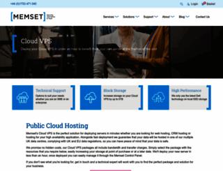 miniserver.com screenshot