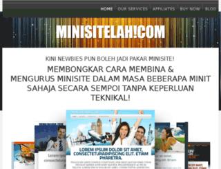 minisitelah.com screenshot