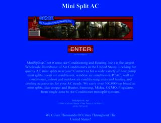 minisplitac.net screenshot