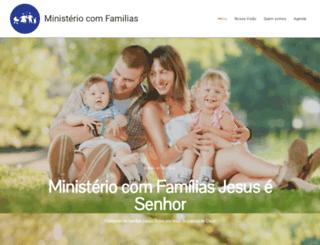 ministeriocomfamilias.com.br screenshot