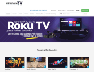 ministeriotv.com screenshot