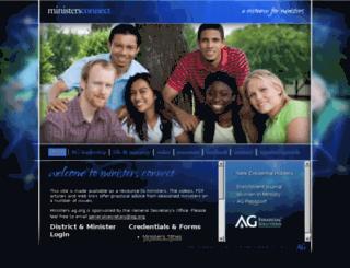 ministers.ag.org screenshot
