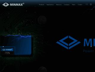 minmax.com.tw screenshot