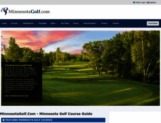 minnesotagolf.com screenshot