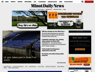 minotdailynews.com screenshot