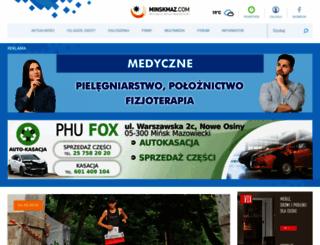 minskmaz.com screenshot