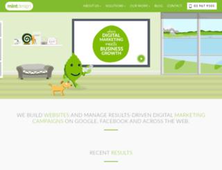 mintdesign.co.nz screenshot