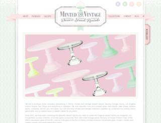 mintedandvintage.com screenshot