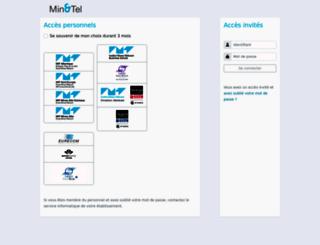 mintel.mines-telecom.fr screenshot