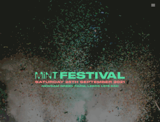 mintfestival.co.uk screenshot